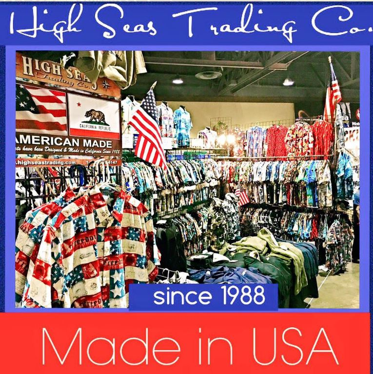 High Seas Trading Made in the USA