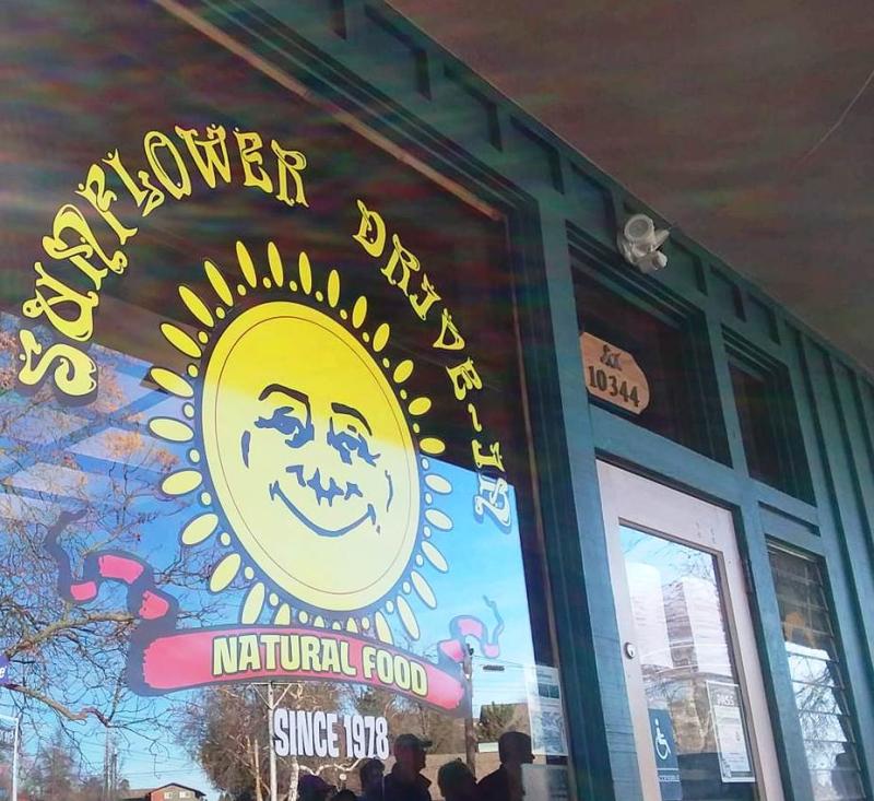 Sunflower drive in