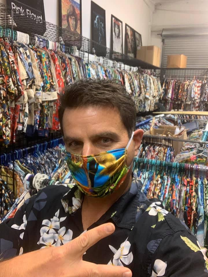 Terrill Agnew High Seas  Trading Co Face Masks