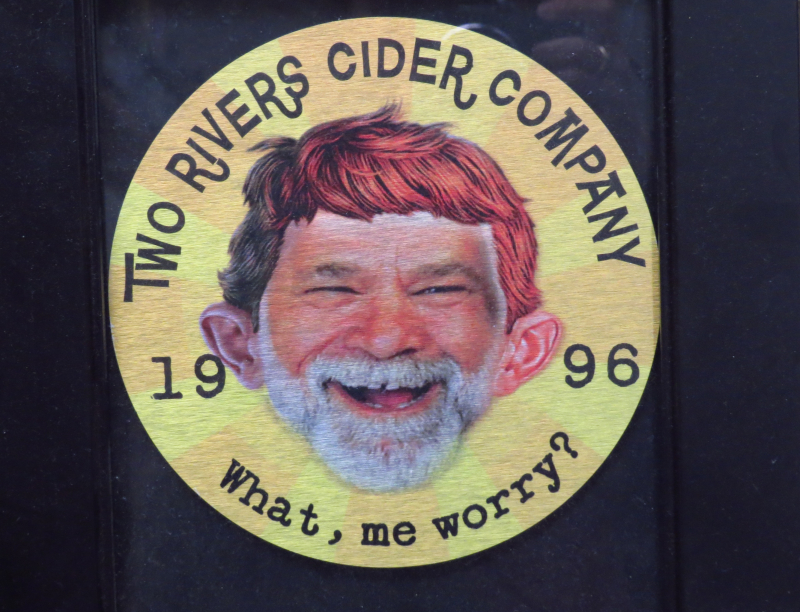 Two Rivers Cider Fearless Leader Credit Barbara L Steinberg