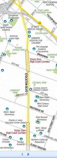 Corridor Study Stockton Boulevard