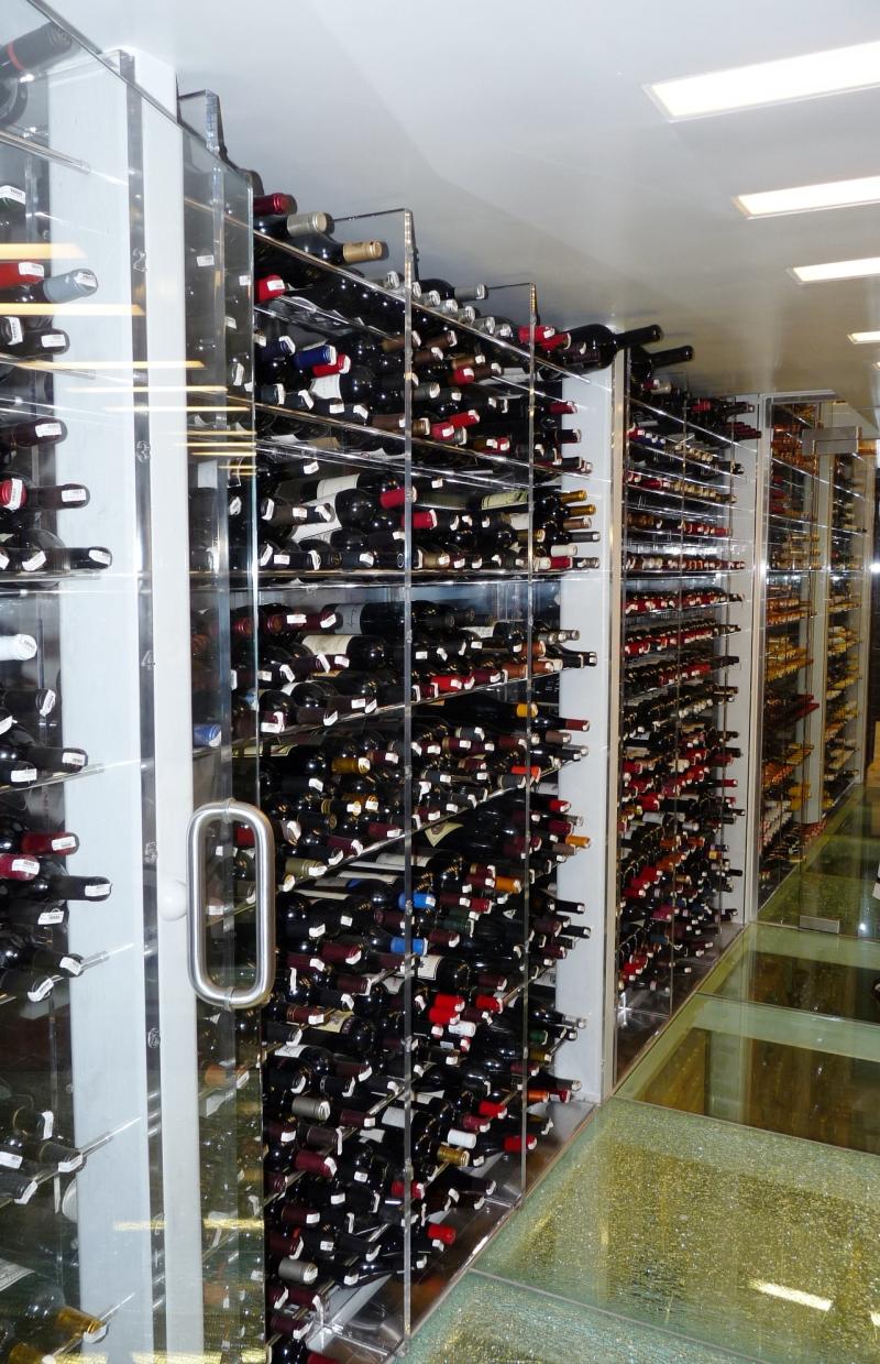 The Plume Horse Wine Cellar Credit Barbara L Steinberg