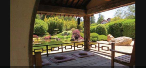 Japanese meditation garden Credit Are You That Woman