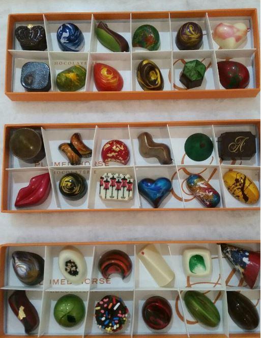 Angelique chocolates saratoga