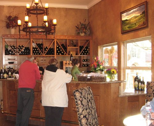 Fairfield Suisun Valley Vezer Family Vineyard Tasting Room